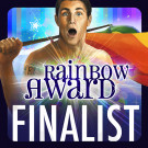 I'm a finalist in the Rainbow Awards!