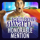 Infected: Lesser Evils got a Rainbow Awards honorable mention!