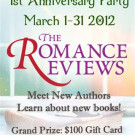 The Romance Reviews' 1st Anniversary Party